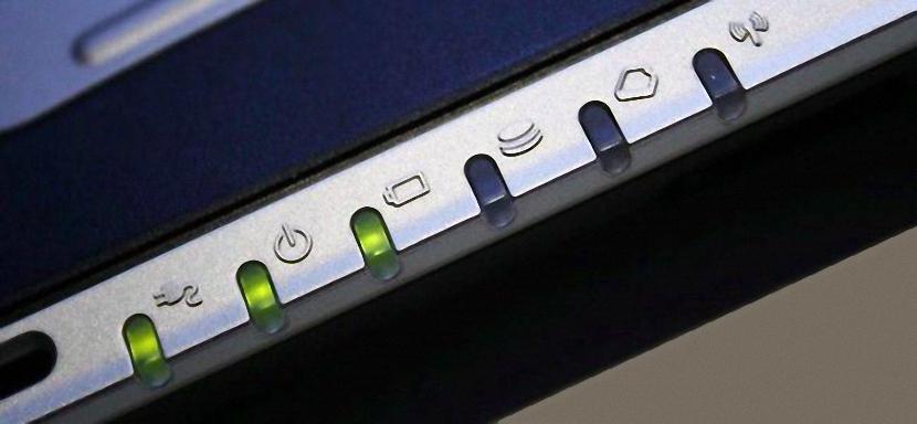 luz indicadora del disco duro en Windows