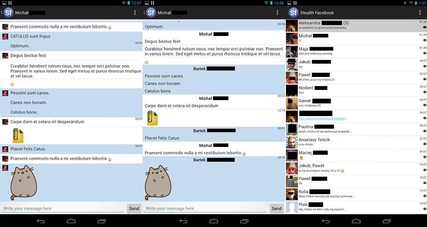 Privy Chat Facebook