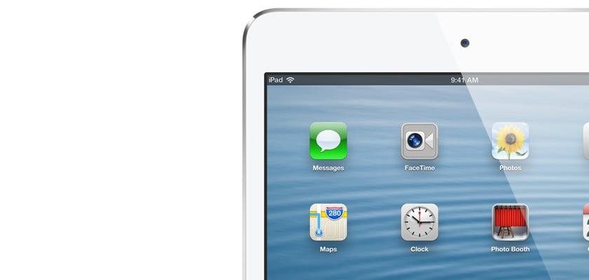 problemas con pantalla de ipad mini