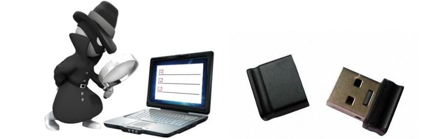 revisar lista de pendrive USB insertados en el ordenador