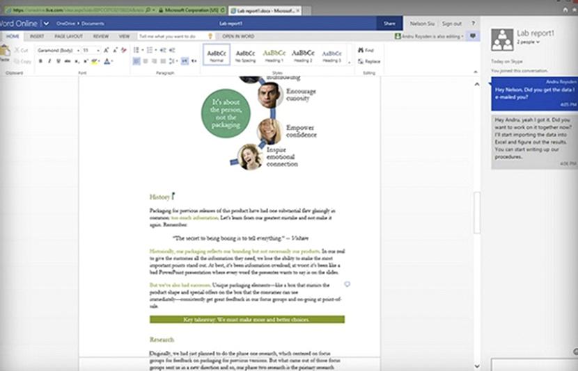 skype en Office 365