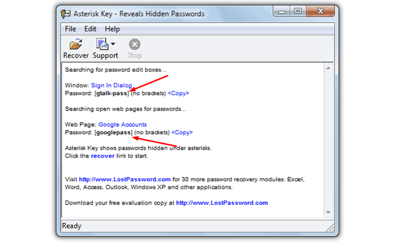 Asterisk Key