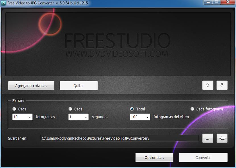 Free Video to JPG Converter 01