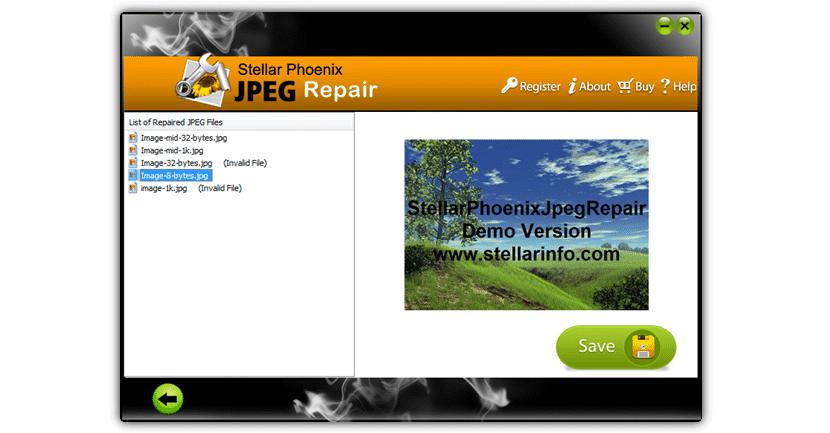 Stellar Phoenix JPEG Repair 2 para recuperar fotos dañadas