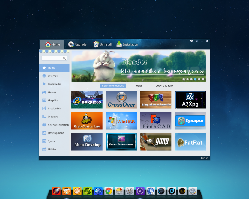 deepin-2014-software