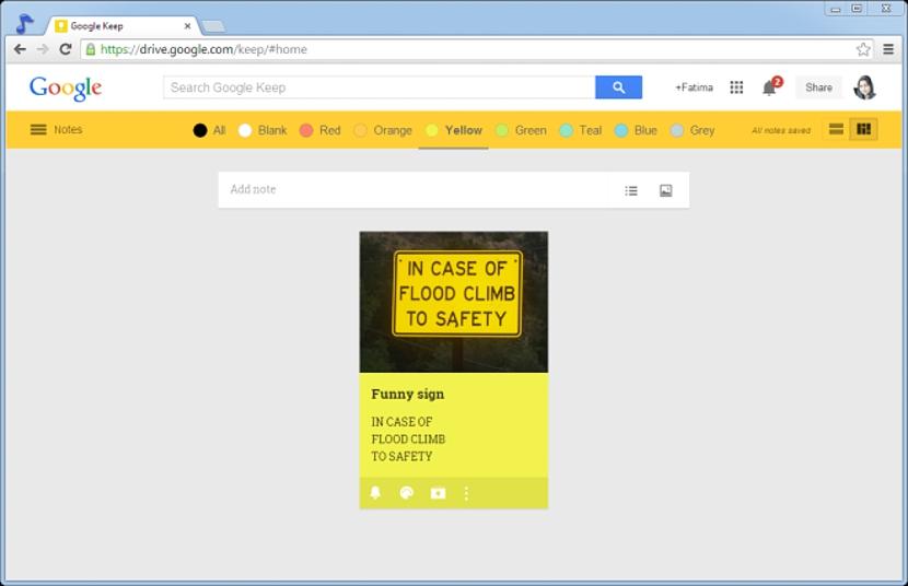 googlekeepcolorbar