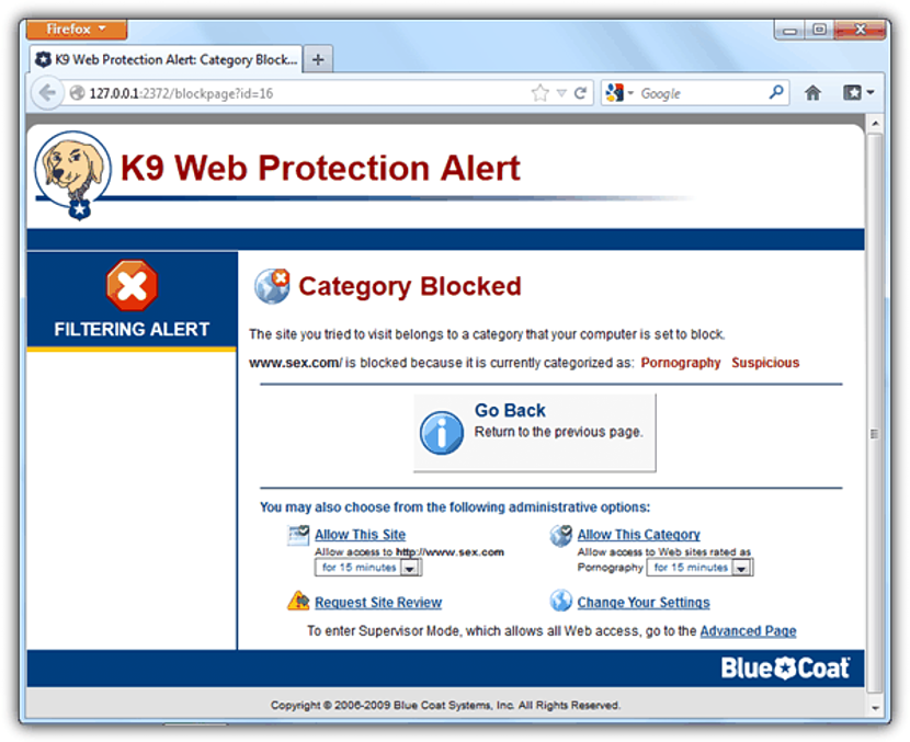 Get K9 Web Protection 02