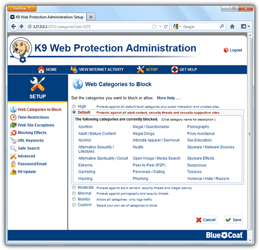 Get K9 Web Protection 03
