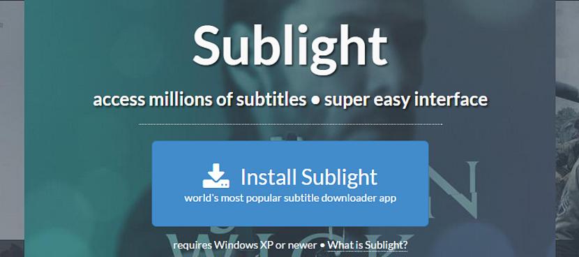 Sublight
