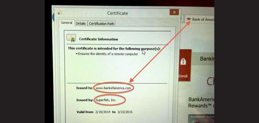 certificado superfish
