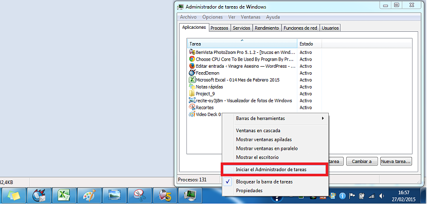 nucleos en Windows 7