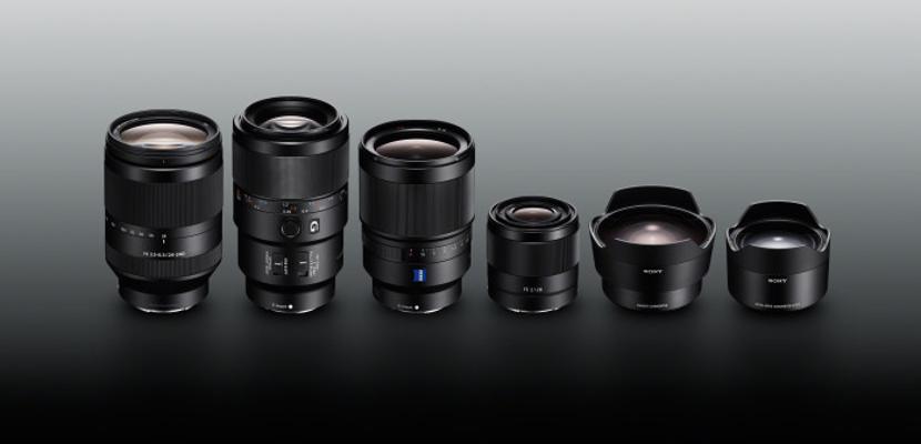 La familia Sony ? con montura Tipo E crece con nuevos objetivos y conversores de fotograma completo