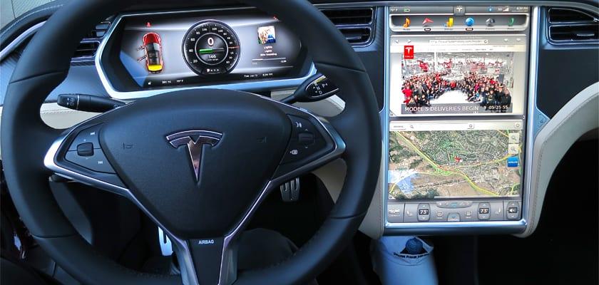 Tesla S actualizacion