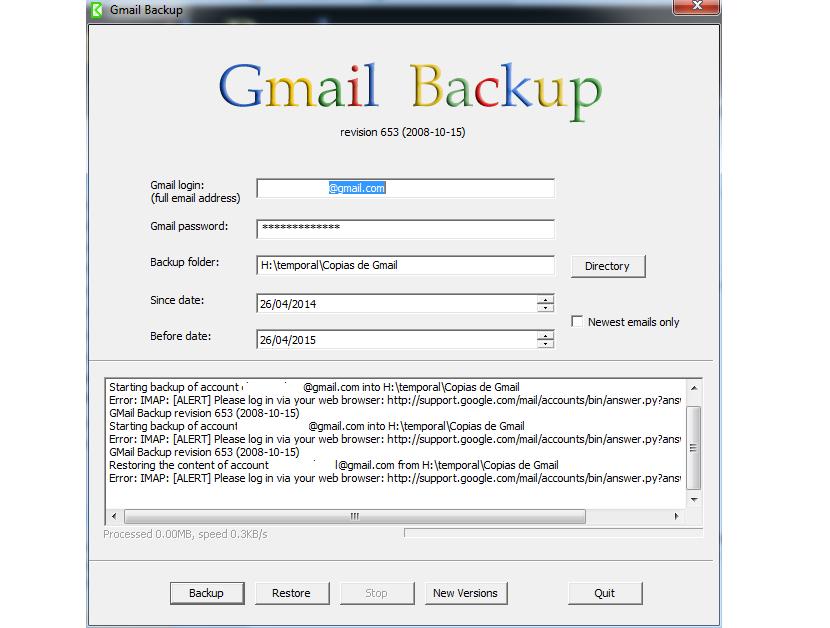 GMail Backup 00