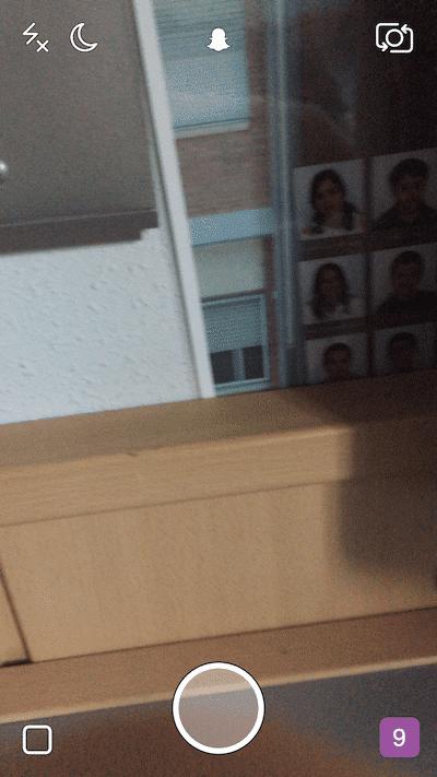 Cámara Snapchat