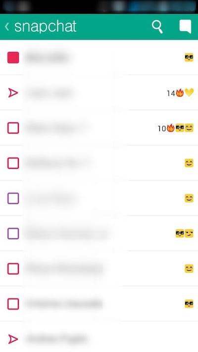 Emoticonos de Snapchat