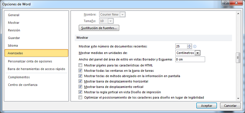 eliminar documentos recientes en Word 01