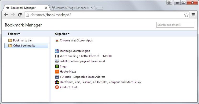 marcadores en Chrome 03