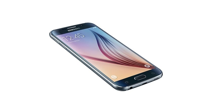 samsung galaxy s6 frontal