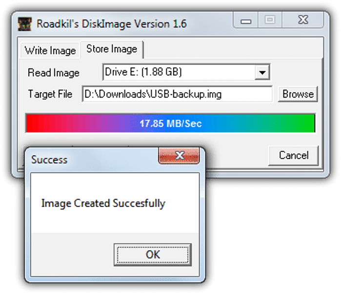 Roadkil's DiskImage