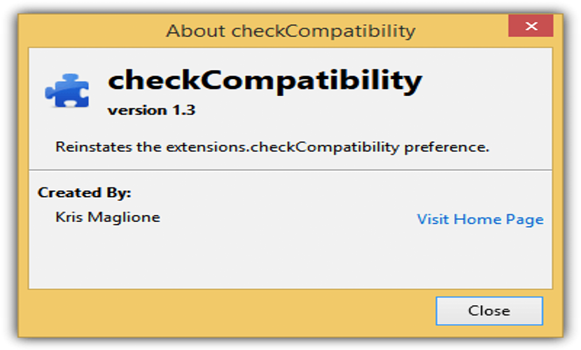 checkcompatibility