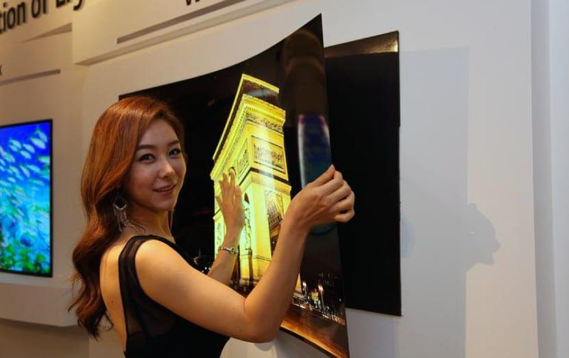 Panel OLED de LG