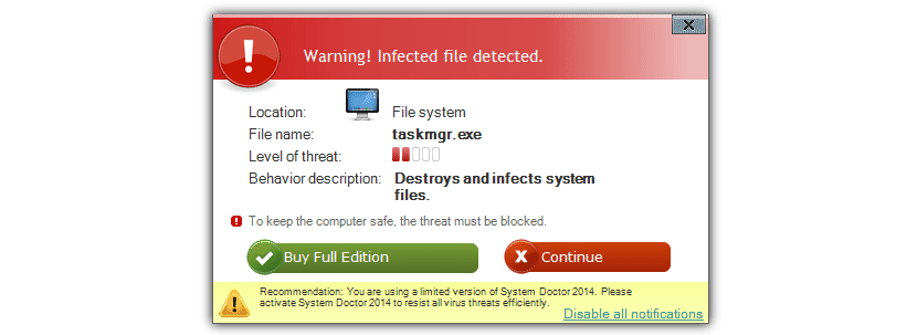 Falsos antivirus en Windows 01