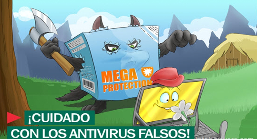 Falsos antivirus en Windows