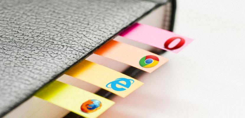 marcadores y favoritos del navegador web