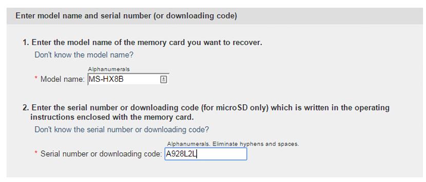 recuperar datos de las tarjetas Sony 04