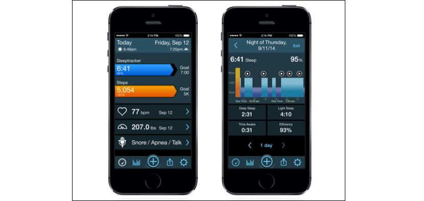 MotionX para iOS