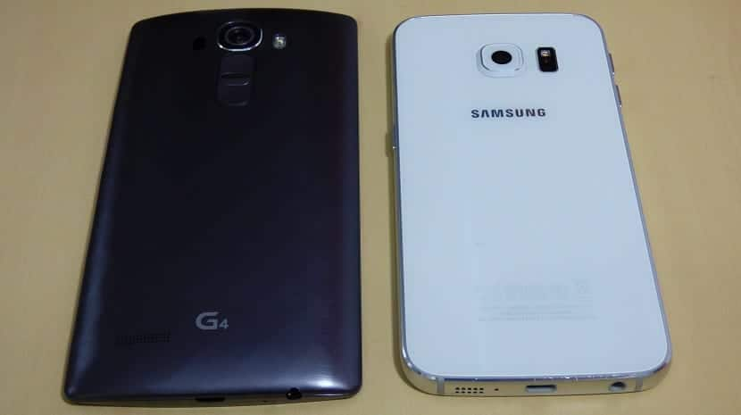 Samsung Galaxy S6 Edge Vs LG G4 2
