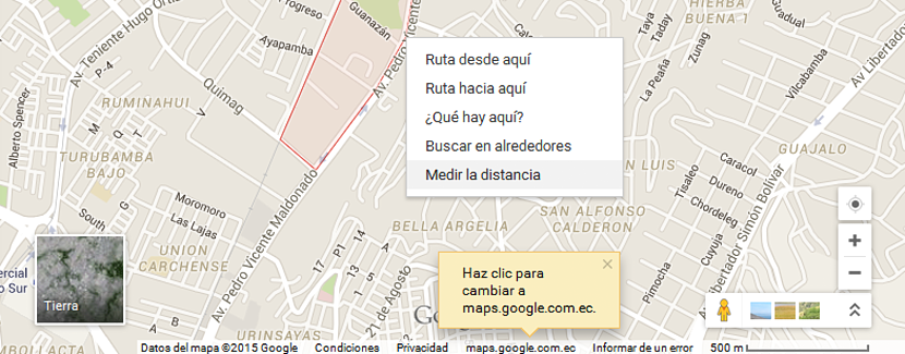medir distancias en google maps 01