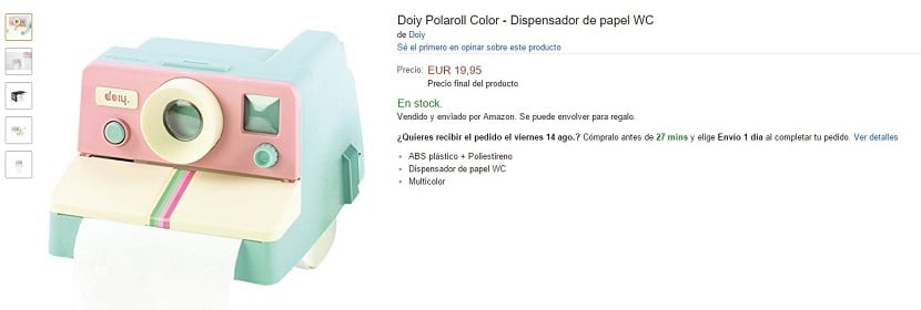 Dispensador de papel WC