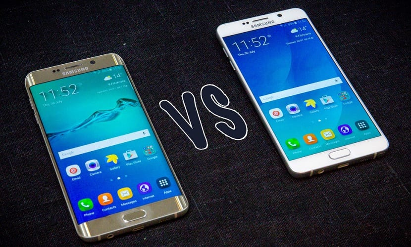 Note 5 Vs S6 edge+
