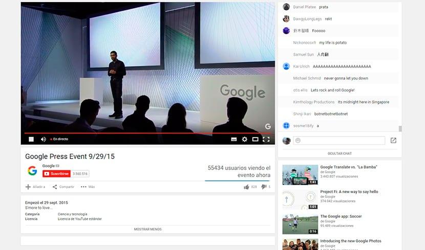 Os contamos con detalle como ha sido la presentación de Google