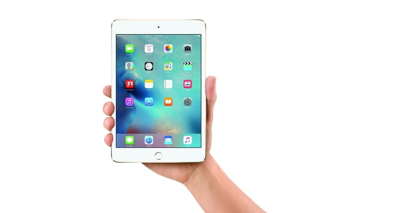 Imagen del Ipad Mini 4