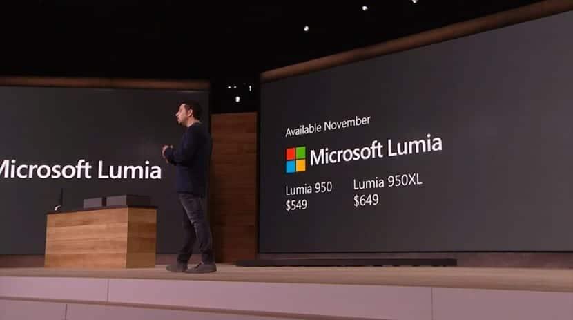 Microsoft Lumia 950 y 950xl