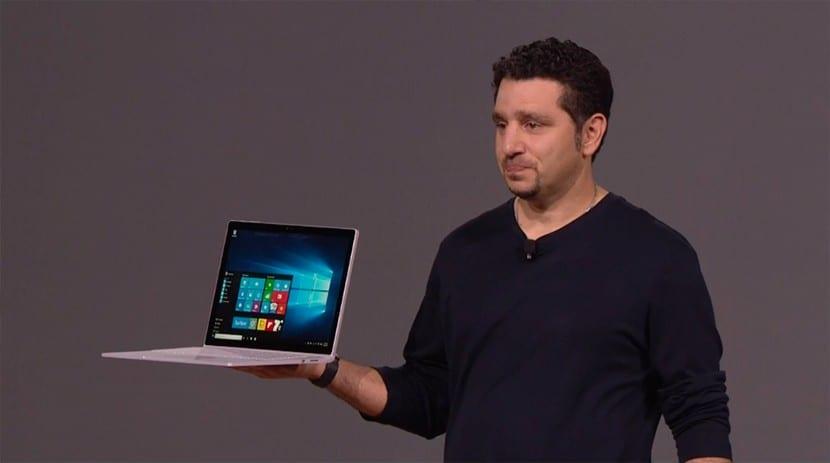 Novedad Microsoft Surface Book