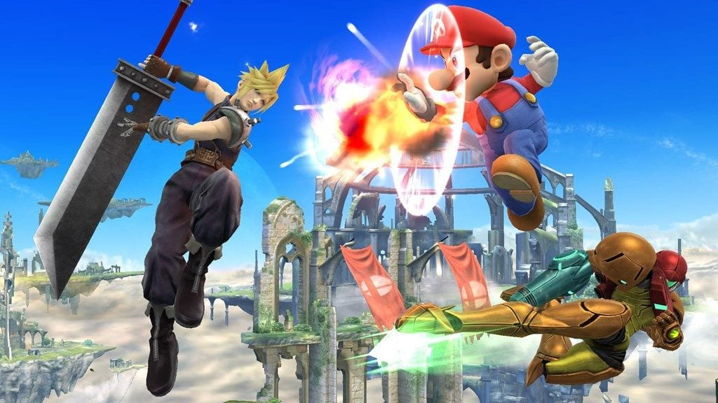 cloud smash bros