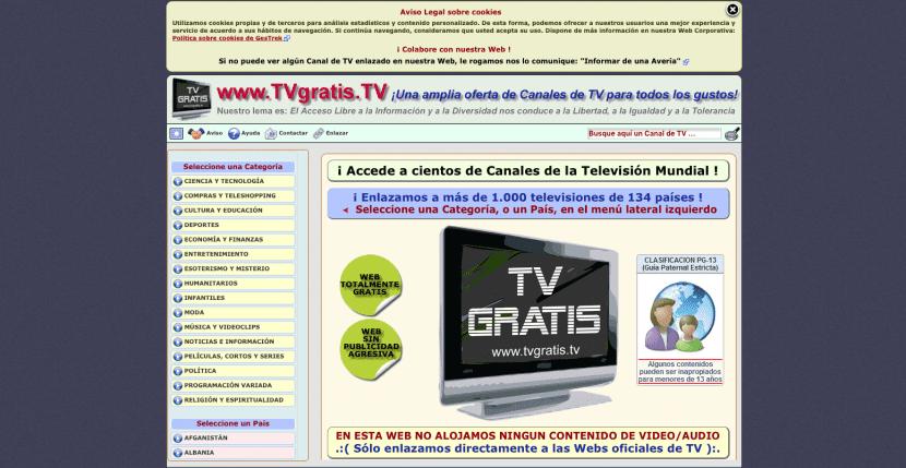 tvgratis.tv, web para ver tdt online
