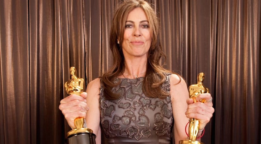 Winner of Best Director and Best Motion Picture of 2009, Kathryn Bigelow poses backstage during the 82nd Annual Academy Awards at the Kodak Theatre in Hollywood, CA on Sunday, March 7, 2010.