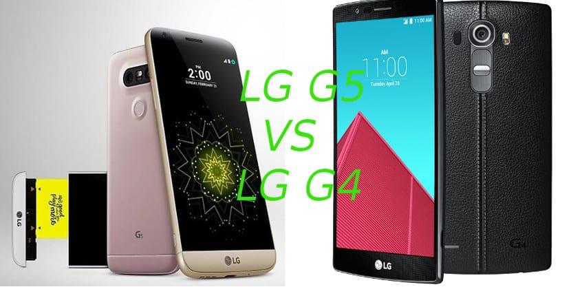 LG G5 vs G4