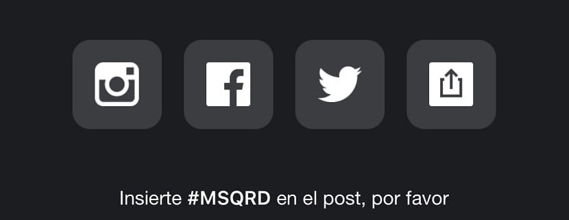 Compartir MSQRD