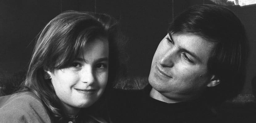 Lisa y Steve Jobs