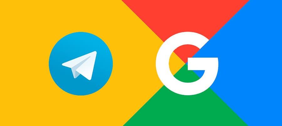 Google y Telegram