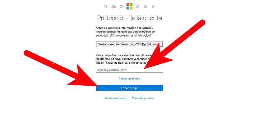 Protección de cuenta de Outlook