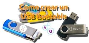 Crear USB Bootable