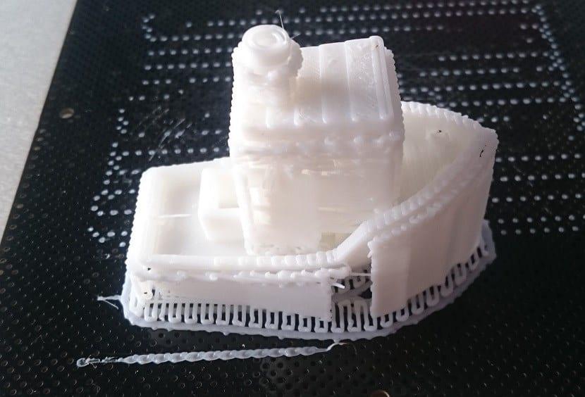 Barco imprimido Impresora 3D Up Plus2