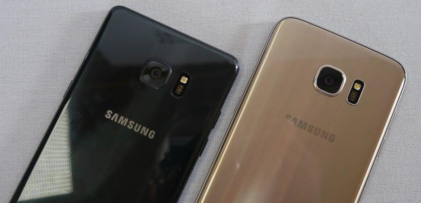 Samsung Galaxy Note 7 Vs Samsung Galaxy S7 Edge